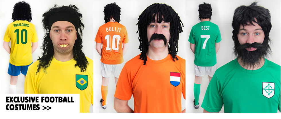 football fancy dress costumes