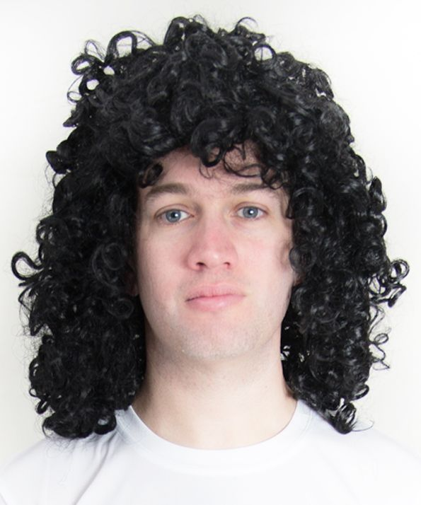 Kevin Keegan 1970 80s Style Curly Perm Football Fancy